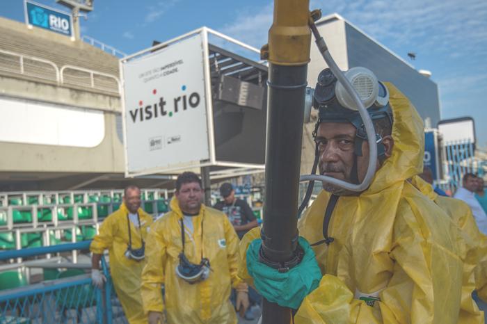 Zika medicine in Rio