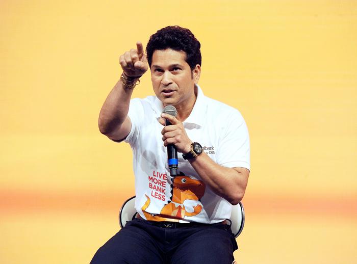 Sachin at an event