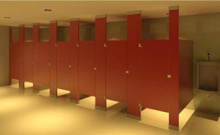 Public Restroom Stalls