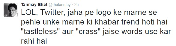 Tanmay Bhat