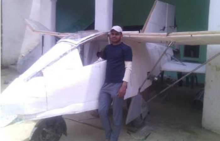 Jobless Frustrated Man Builds Plane From Maruti Van Engine To Prove His Worth