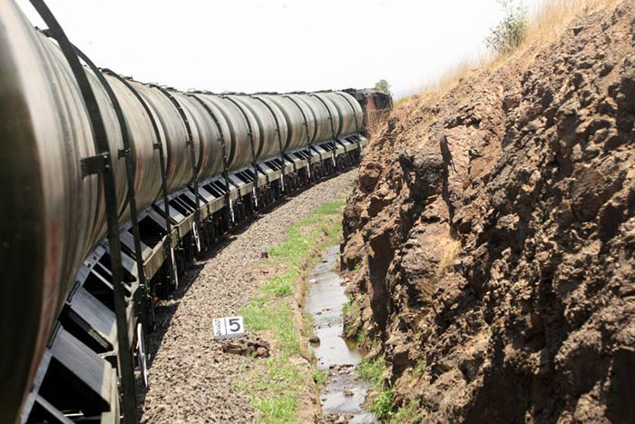 While People Are Dying, UP Government Refuses Water Train From The Centre
