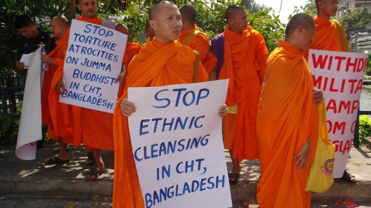 buddhist monks in bangladesh death
