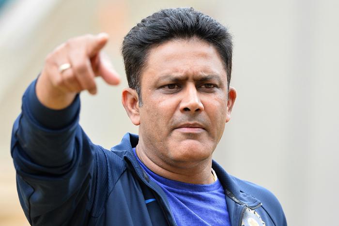 India coach Anil Kumble