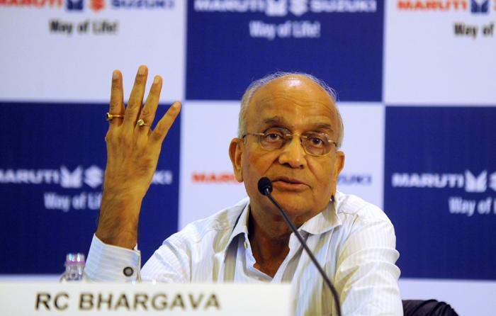 Maruti Suzuki India chairman R C Bhargava