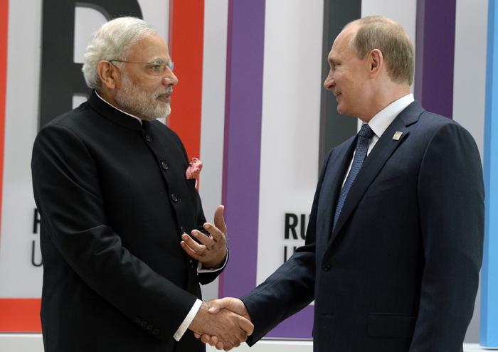 Modi And Putin