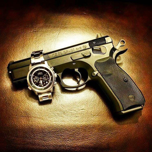 gun and rolex