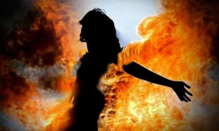 Woman Set Afire For Not Bearing Child In Kanpur