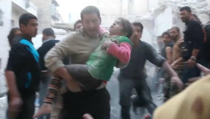 Aleppo airstrik