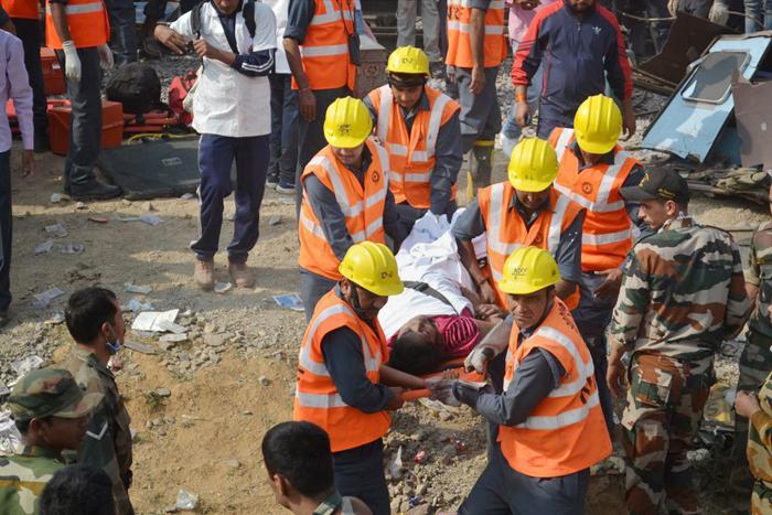 Indore-Patna Express Injured