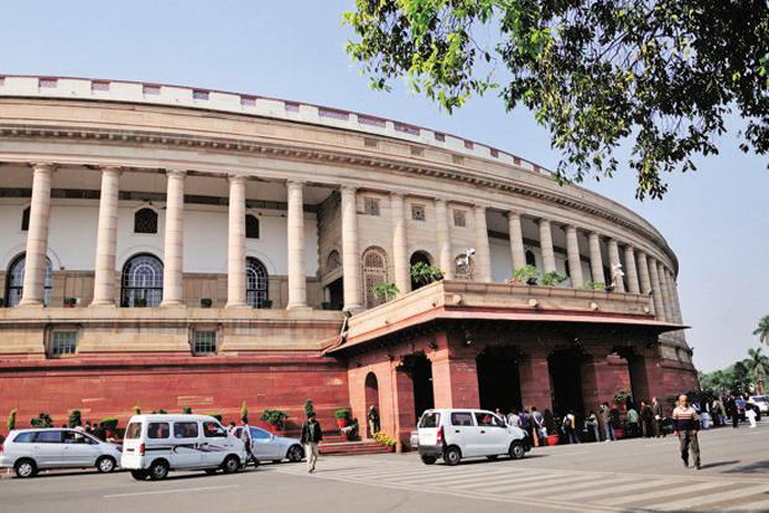 Man Tries To Jump Into Lok Sabha Chamber From Visitors
