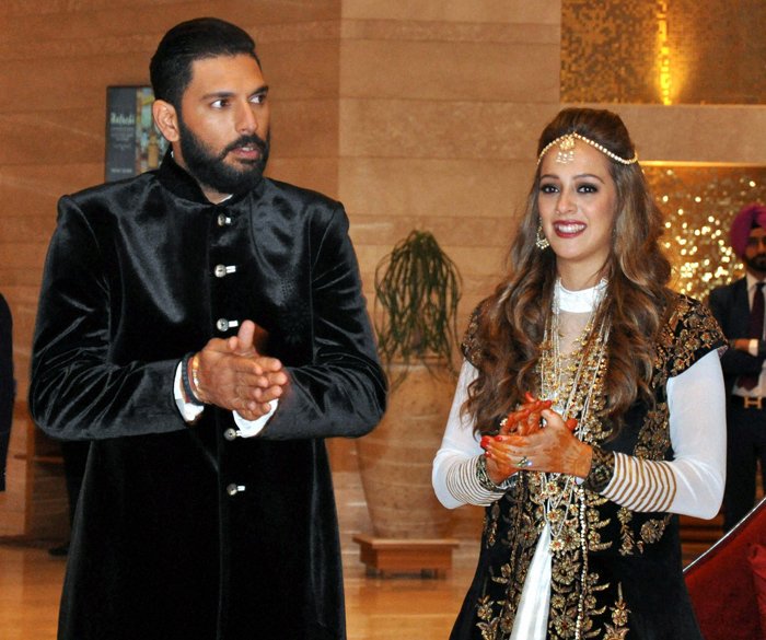 Pictures Of How India Cricketers Are Having A Ball At Yuvraj Singh And Hazel Keech Wedding