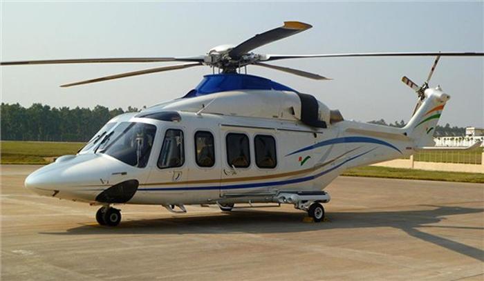 Agusta Westland AW 109 chopper (VT-VCA