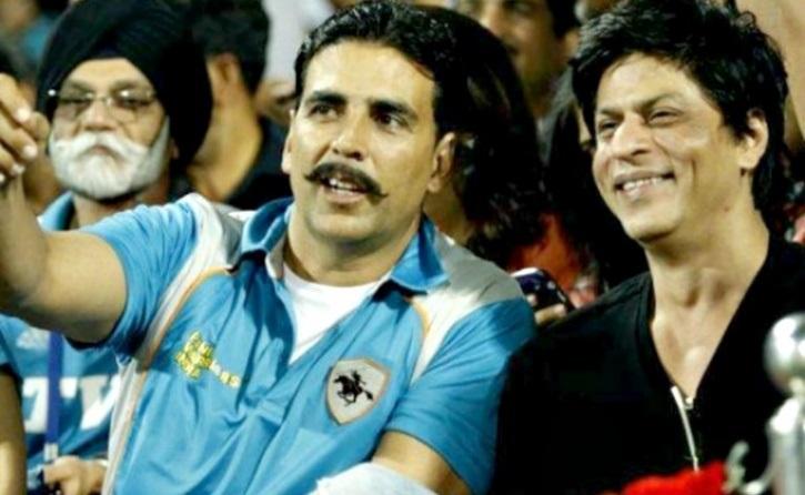 Akshay Kumar SRK