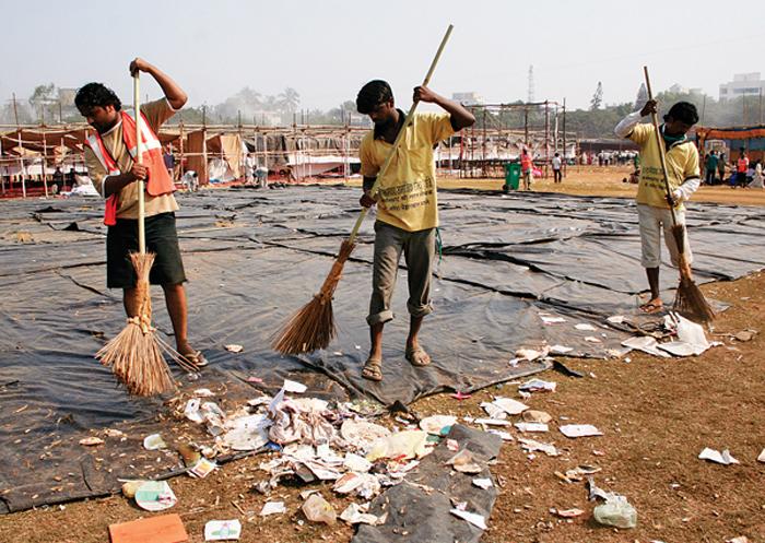 Sanitation Worker Asks SBI
