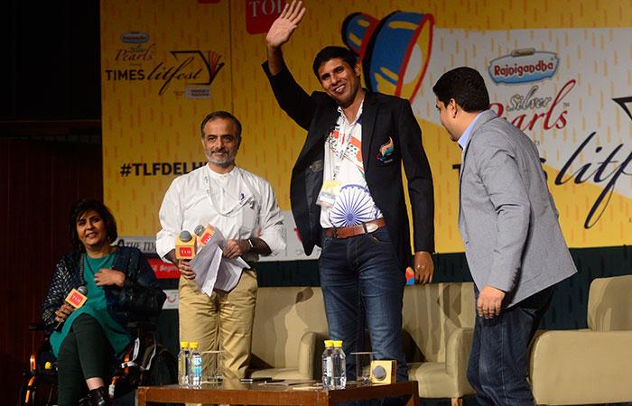 Deepa Malik and Devendra Jhajharia