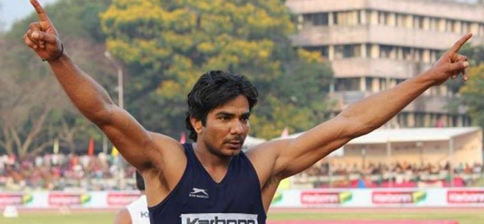 Sprinter Dharambir Singh