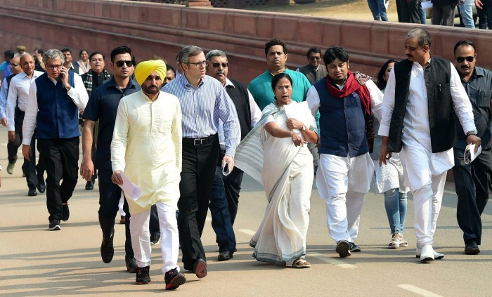 opposition protest