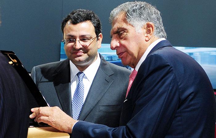 Ratan Tata and Cyrus Mistry