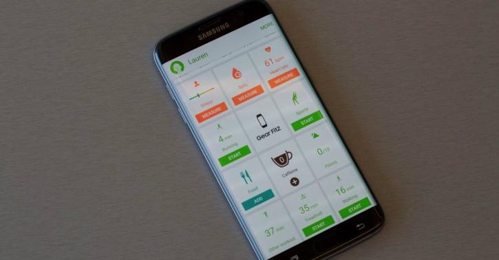 samsung gear fit2 app