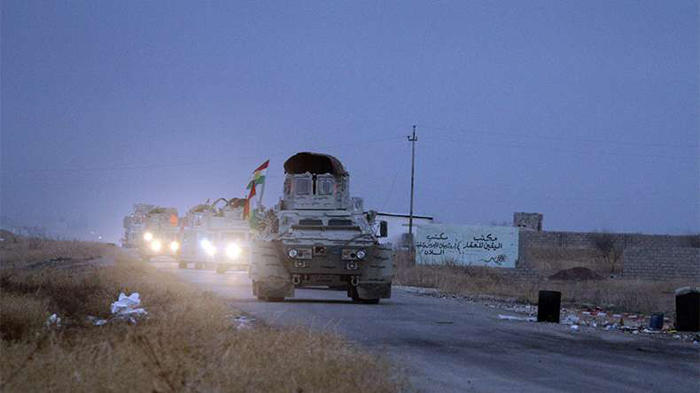 Iraqi Troops, Paramilitary Forces Entirely Encircle Mosul