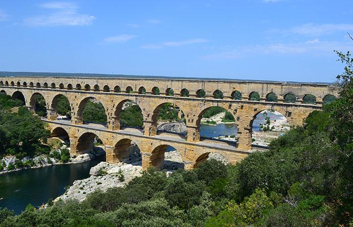 Pont du Gard, Vers, France