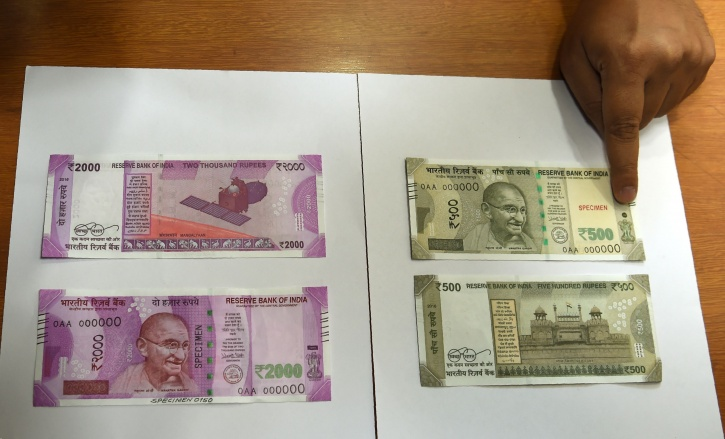New rupee notes