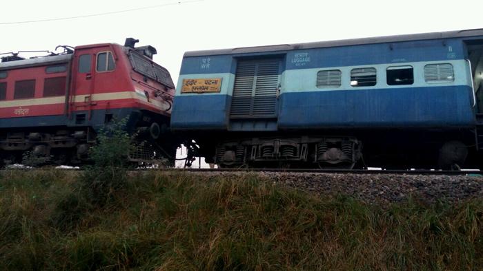 Indore-Patna Express Derails Near Kanpur