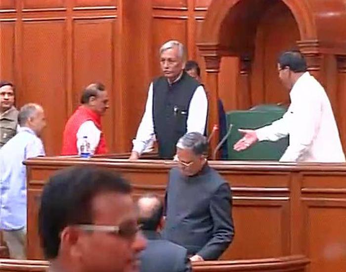 Speaker Ram Niwas Goel