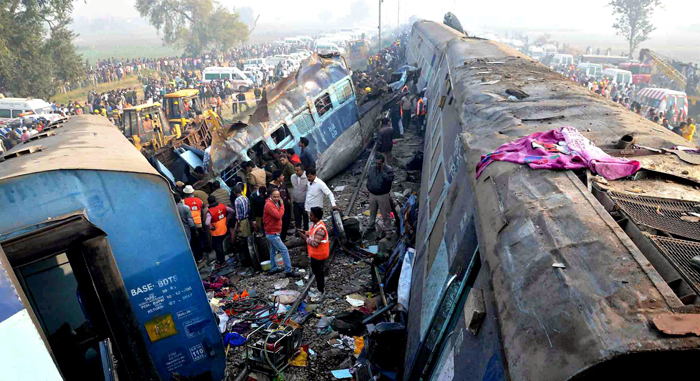 Indore-Patna Express Injured PTI