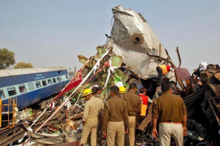 Kanpur train accident
