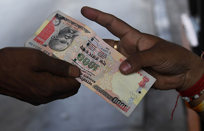 1000 Rupees Note