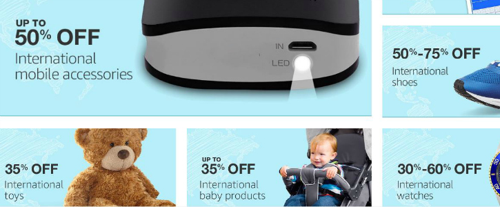 Amazon International Deals Day