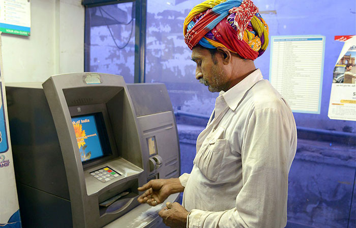 India Forced To Import Parts From China To Keep ATMs Running AP