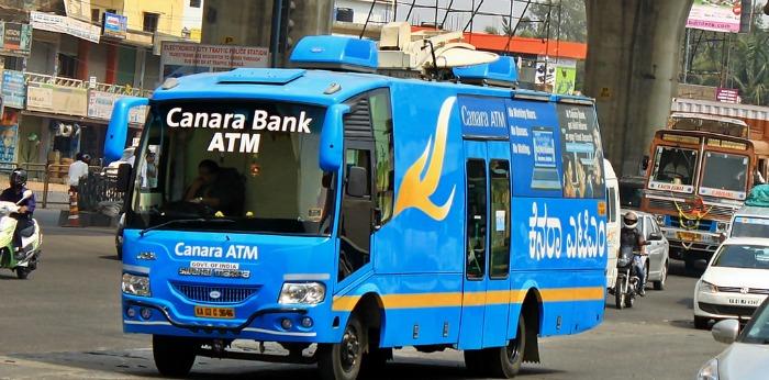 Canara Bank mobile ATM