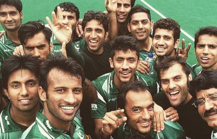 Pak Hockey Team