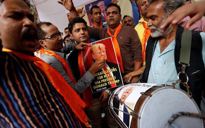 Hindoo Groups Behind Donald Trump