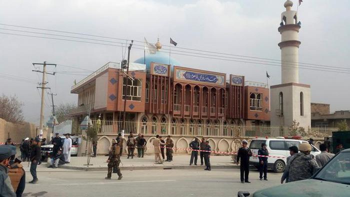 Suicide Bomber Attacks Shia Mosque In Kabul