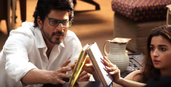 Alia Bhatt and SRK