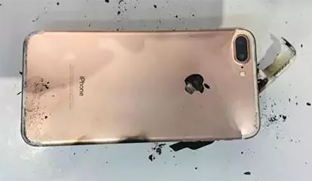 iPhone 7 blew up