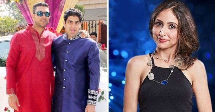 Yuvraj Singh and Akanksha Sharma