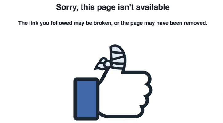 Facebook posts disappearing