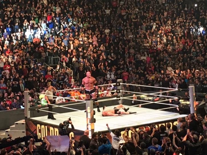 2 Spears, 1 Jack Hammer: Goldberg Defeats Brock Lesnar Under 2 Minutes At Survivor Series