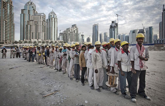 Worker at Dubai