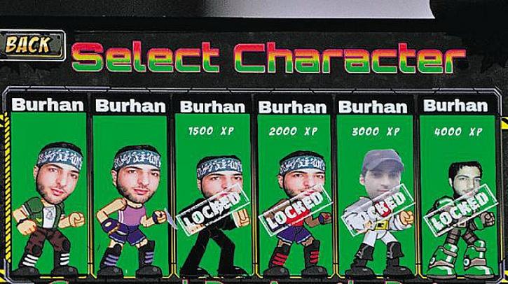 Burhan wani vs modi game