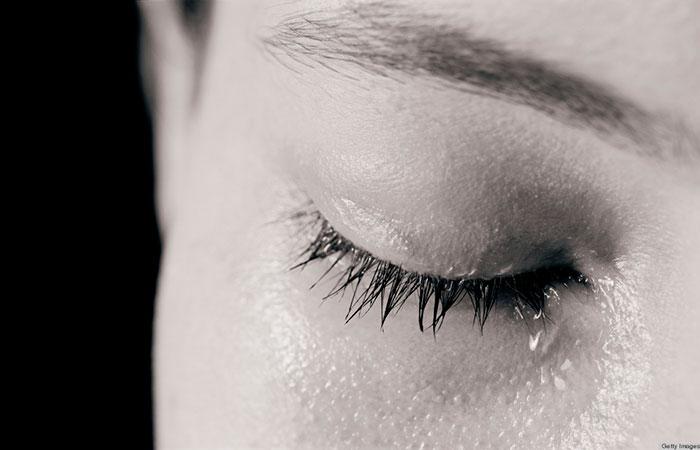 Tears in Eyes