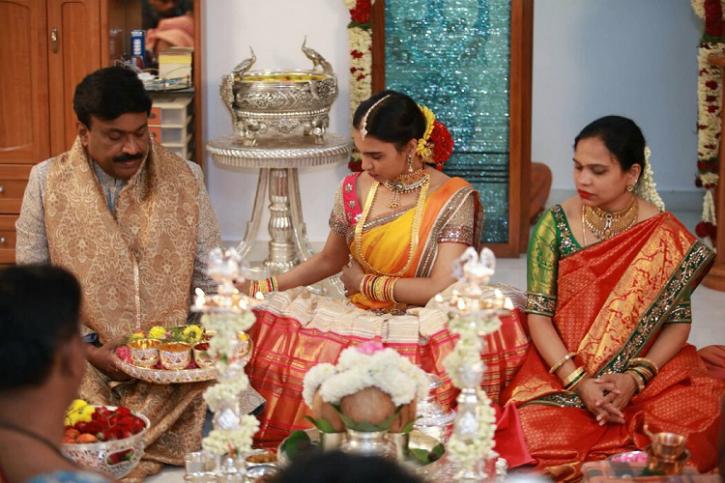 Janardhana Reddy daughter wedding