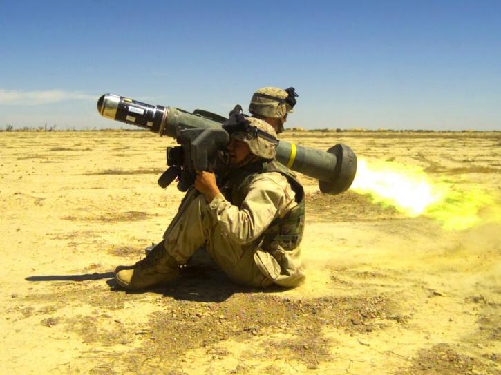 javelin handheld missile