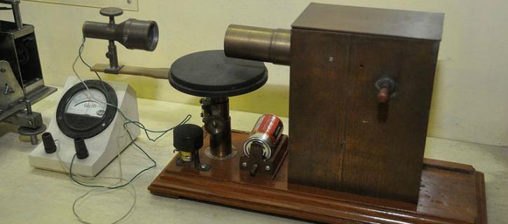 JC Bose Microwave apparatus