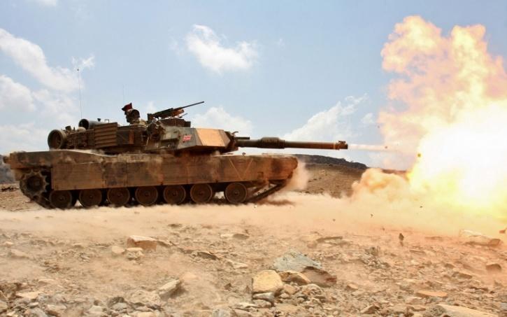 Abram tank